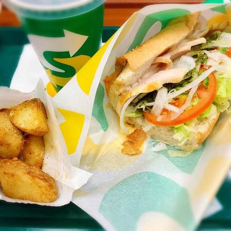 SUBWAY昼得セットコンボ